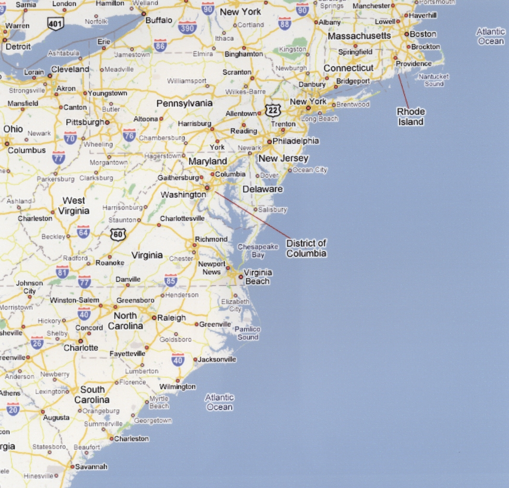 Us Map East Coast Beaches Us Map East Coast Beaches Mapblank Us Beach Map