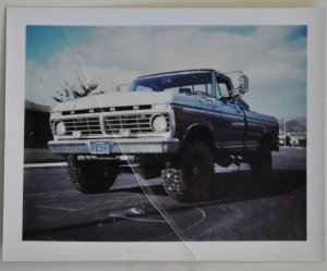 "My dad's truck, ""Old Blue.""  He was always a Ford man; might have something to do with my being partial to Ford."