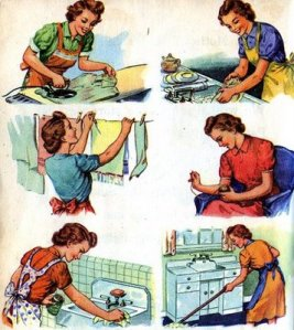 vintage+housewife